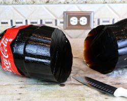 How to make a giant gummy coca cola bottle
