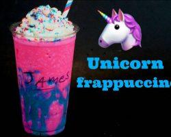 How to Make a Homemade Unicorn Frappuccino