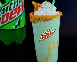 How to Make Mountain Dew Milkshake at Home