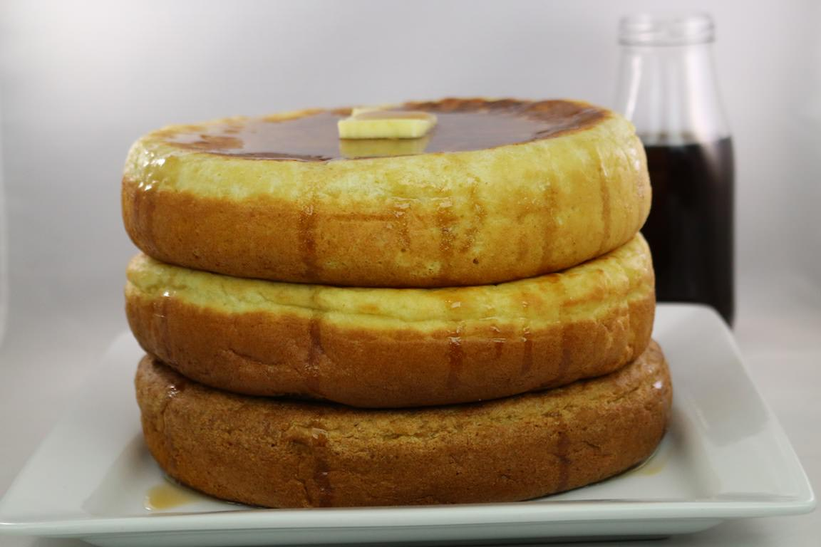 How To Make Giant Fluffy Pancakes With A Rice Cooker