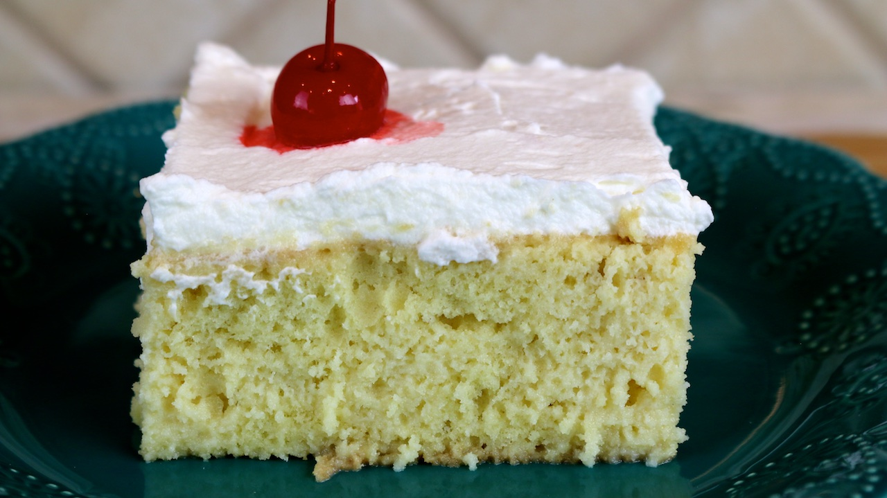 How To Make Tres Leches Cake Funfoods