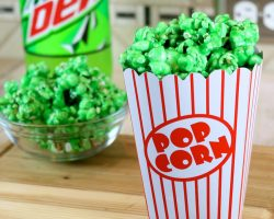 How to Make Mountain Dew Flavored Candy Popcorn
